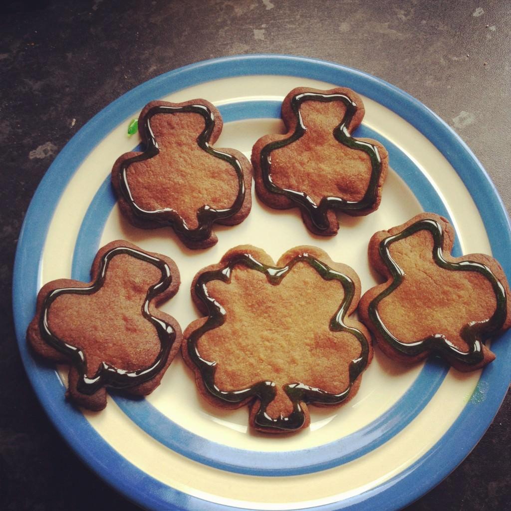 st patricks day biscuits