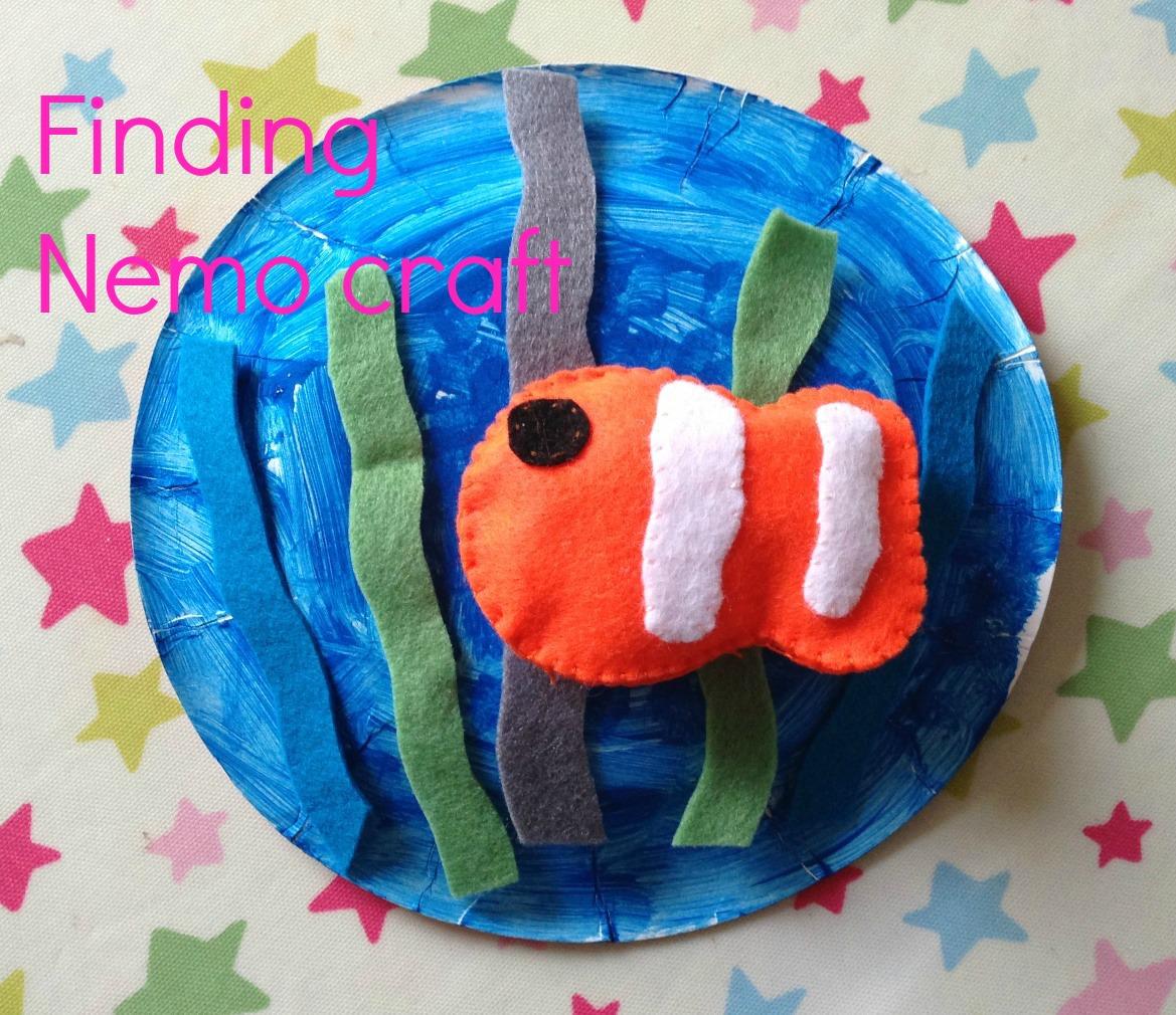 Finding Nemo crafts