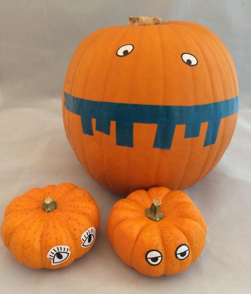 washi tape pumpkin