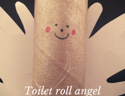 Toilet roll angels