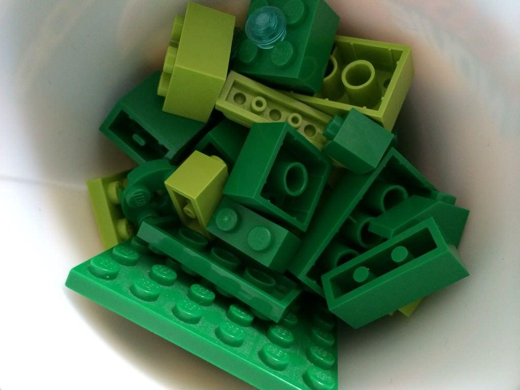 how to make a lego soap dispenser