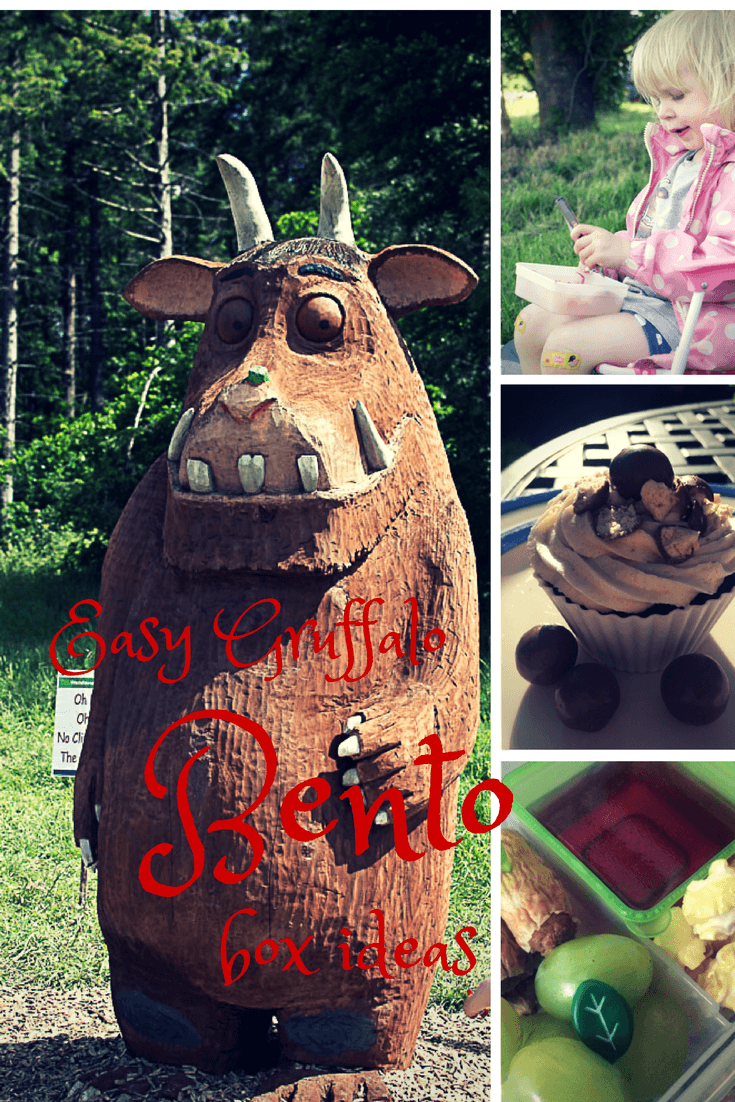 Gruffalo bento box - the gingerbread house