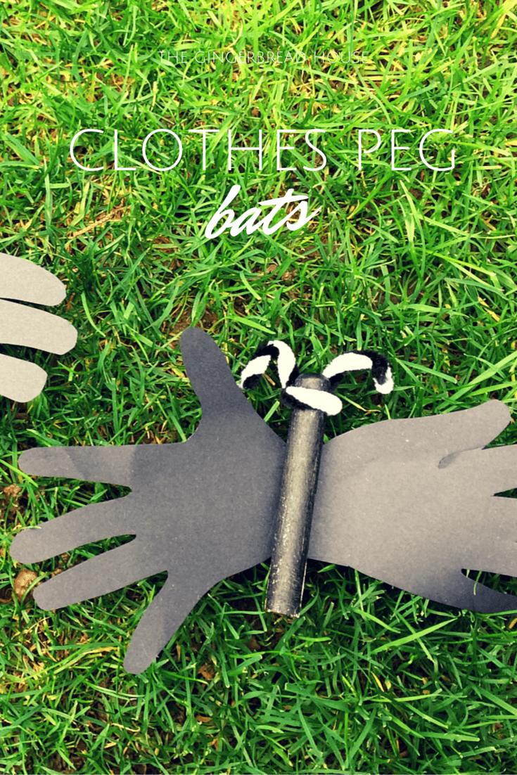 clothes peg bats