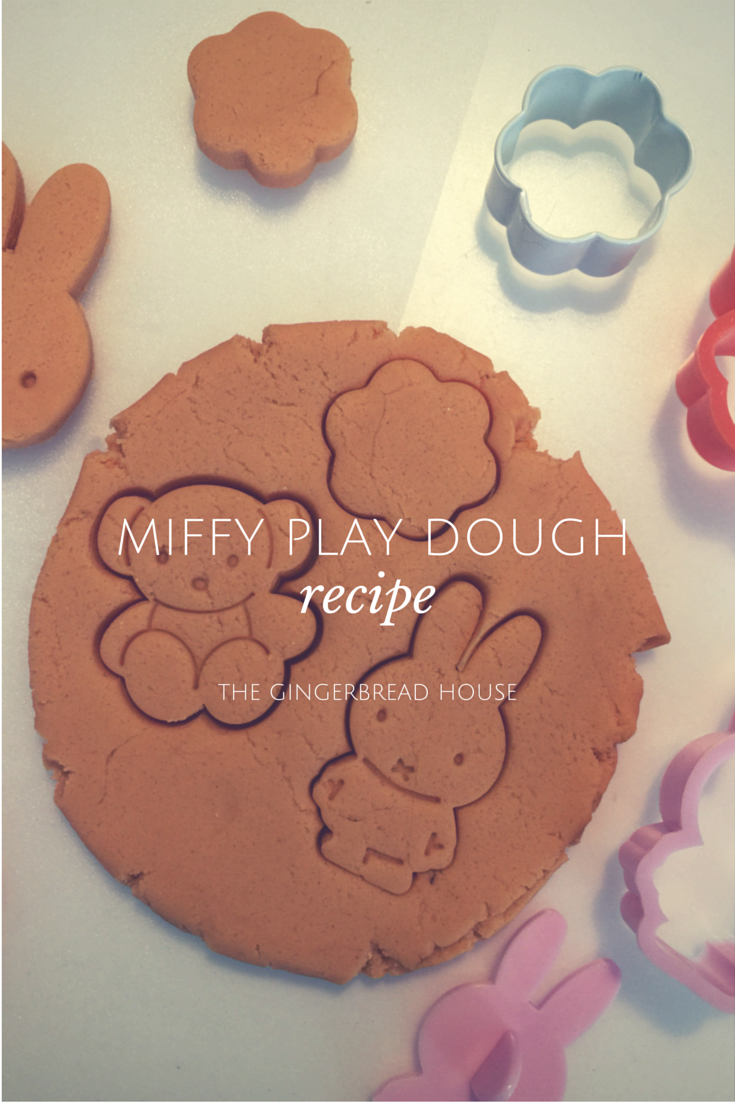 miffy play dough recipe - the gingerbread house