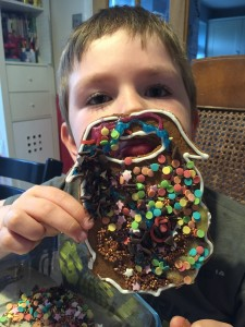 edible gingerbread beard bisuit