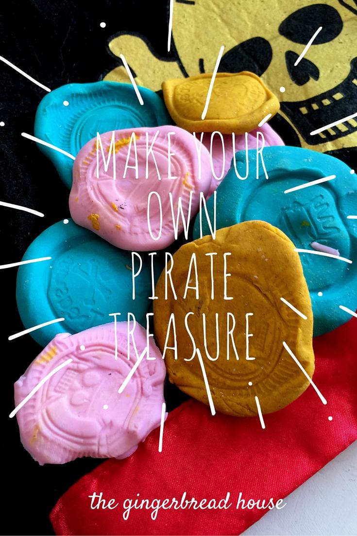 Make your own pirate treasure