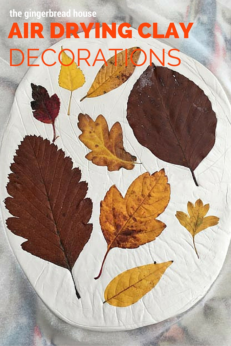 air drying clay decorations