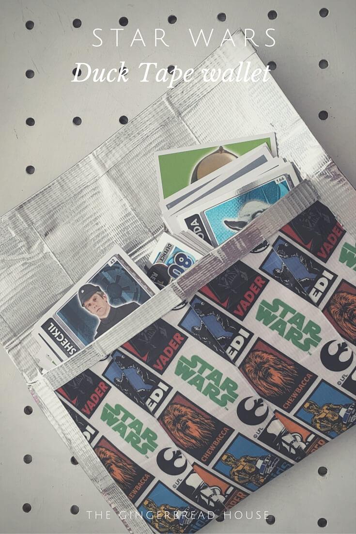 Star Wars Duck Tape wallet