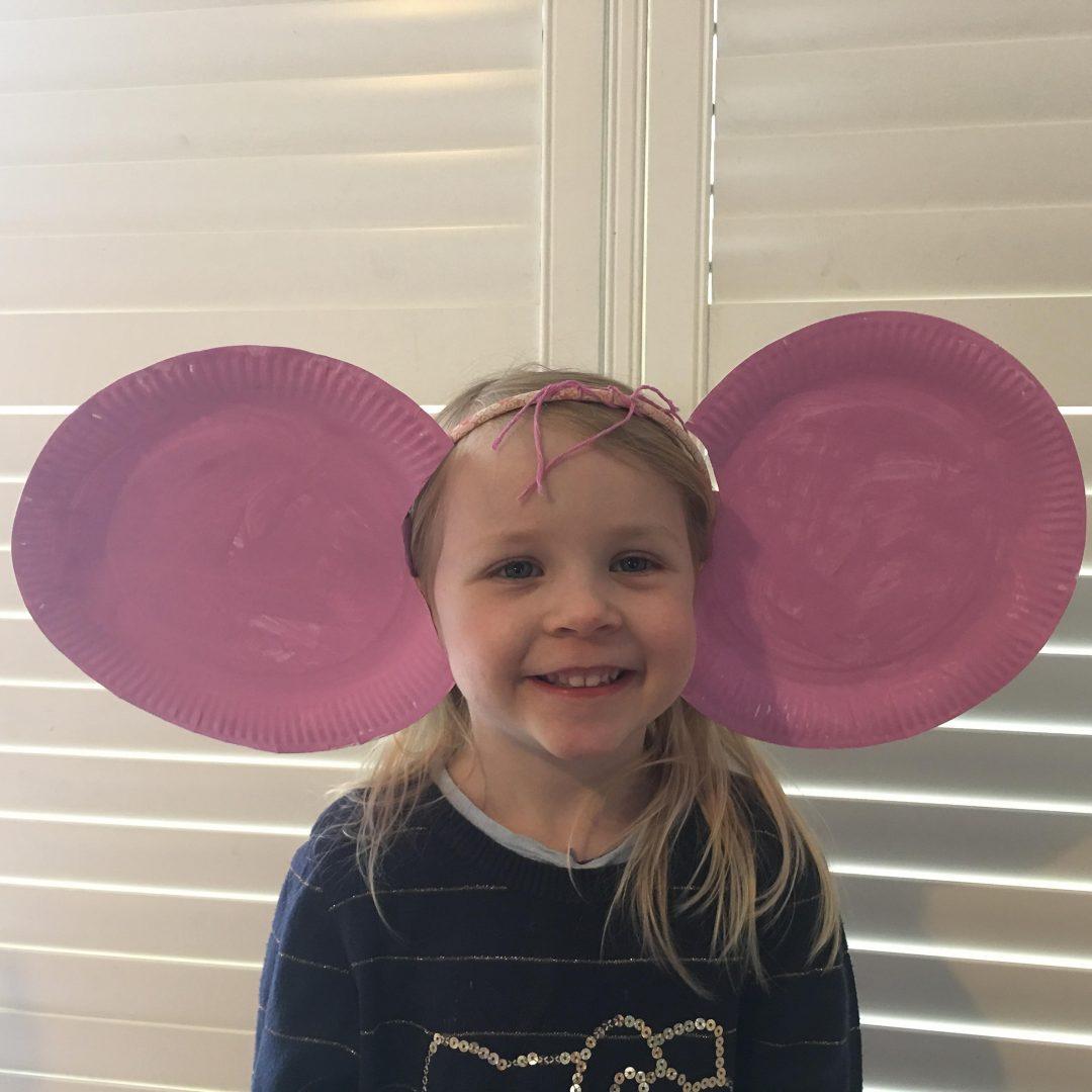 paper plate BFG ears