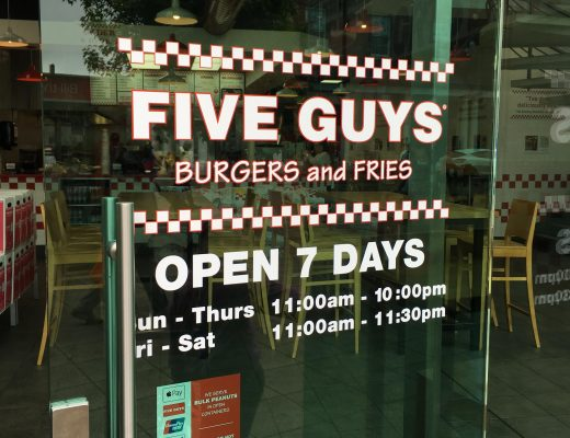 Five Guys uxbridge