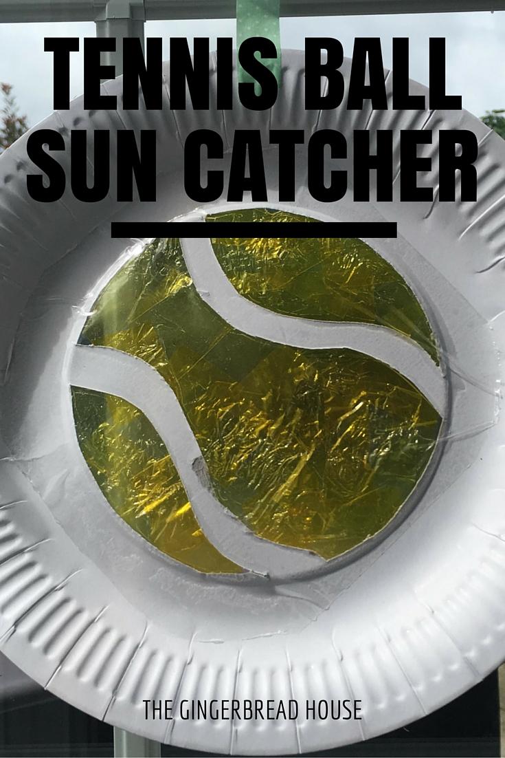 tennis ball sun catcher