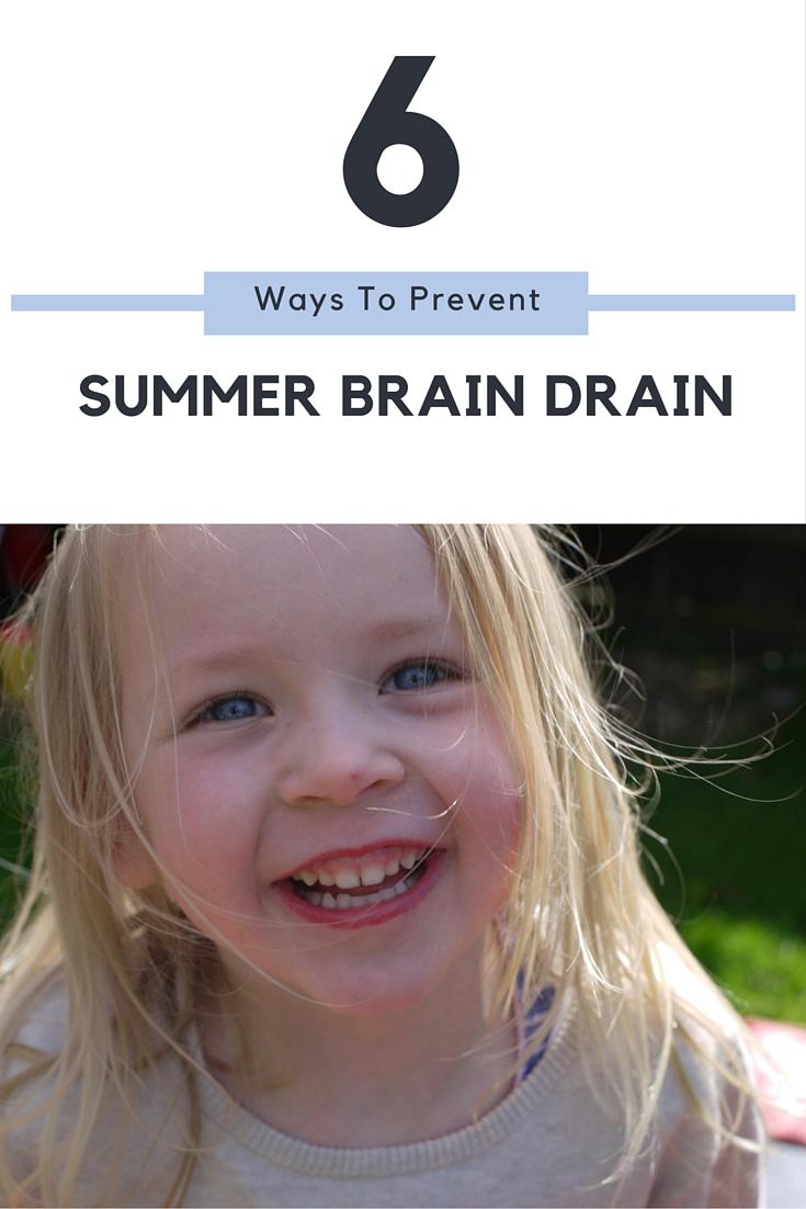 6 ways to stop the Summer brain drain
