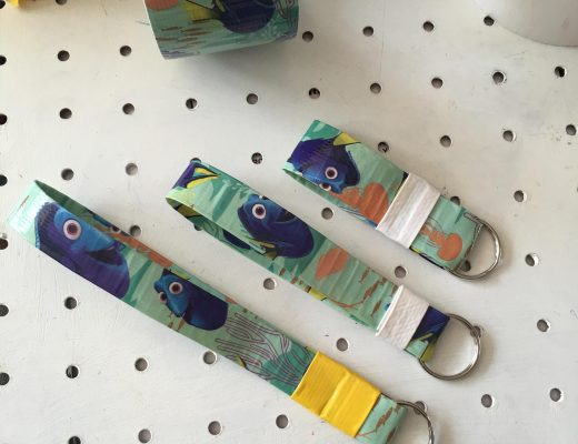 Finding Dory Duck Tape craft for kids