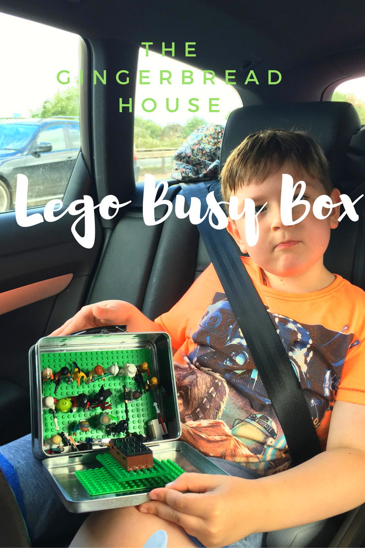 Lego Busy Box or Portable Lego Kit for travelling kids