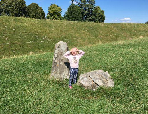Avebury Stone Circle with kids