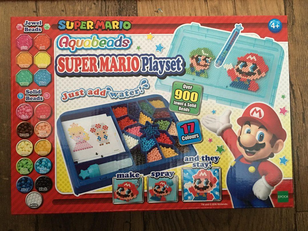 Super Mario aquabeads playset