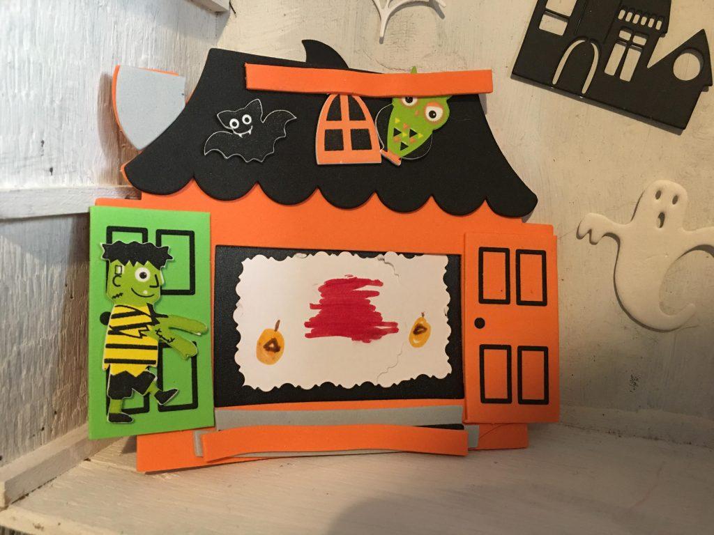 Haunted House Photo Frame