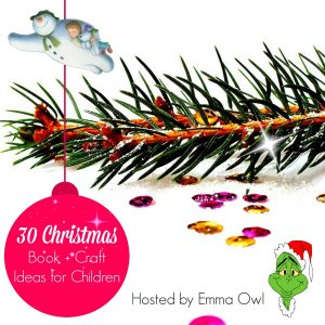 Christmas book + Christmas craft blog hop