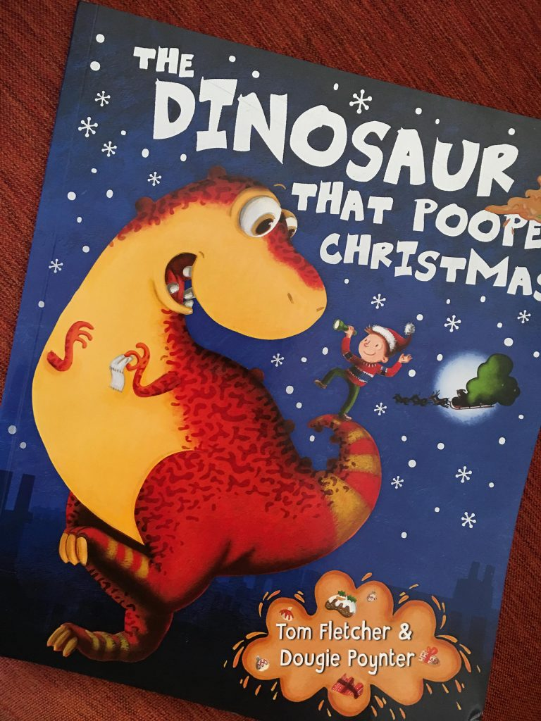 The Dinosaur That Pooped Christmas cover
