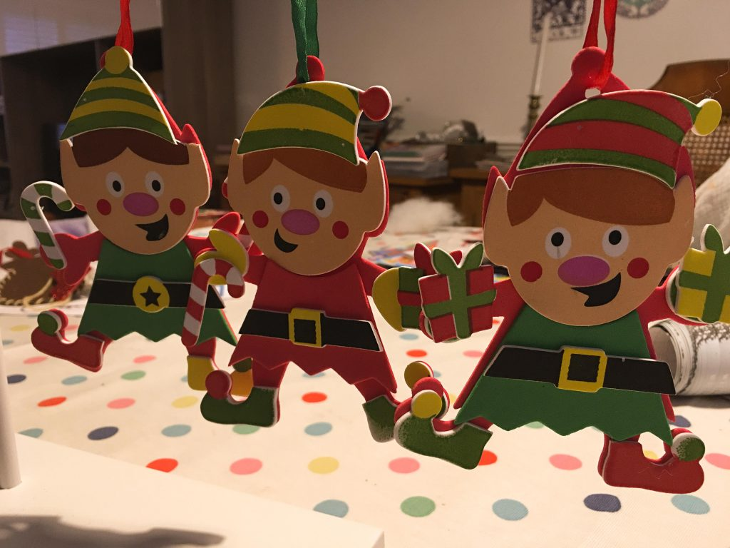 Christmas Elf Mix & Match Decoration Kits