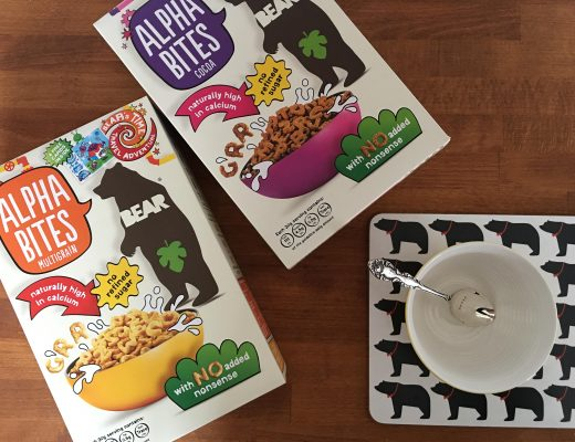 A no nonsense breakfast with BEAR Alphabites