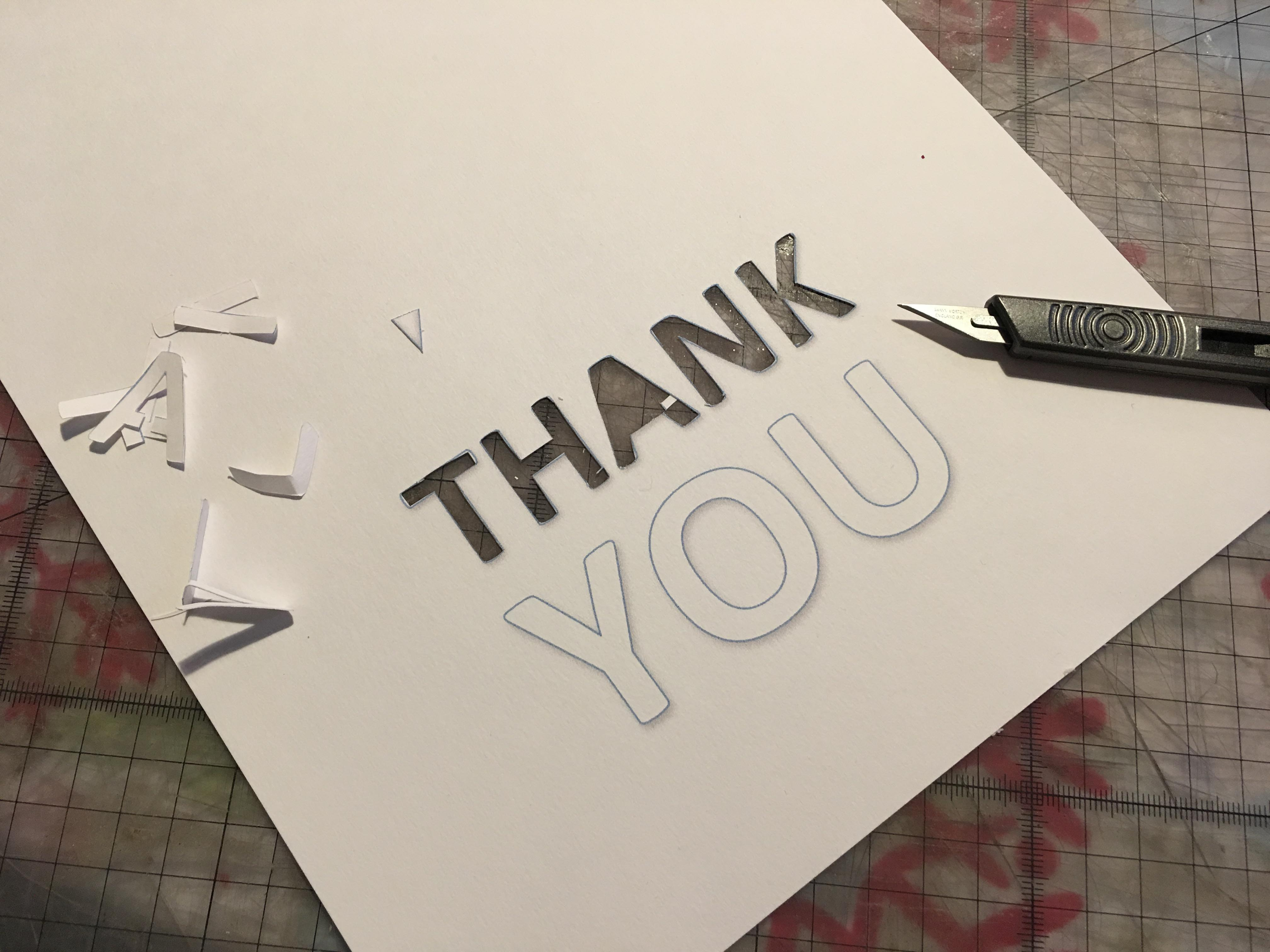 simple thank you cards for kids to make free printable
