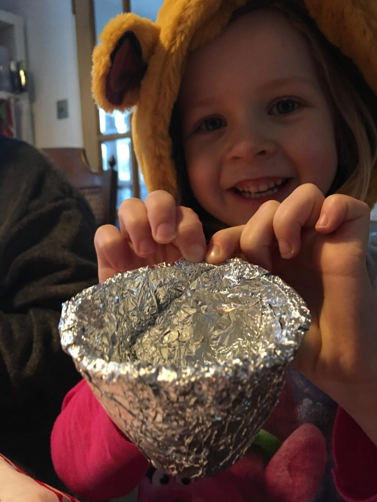 How to make New Year bells, a simple recycled craft for kids