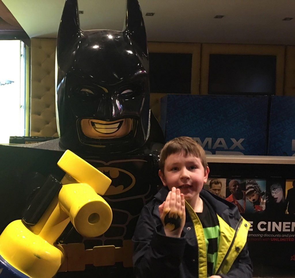 lunch with Batman