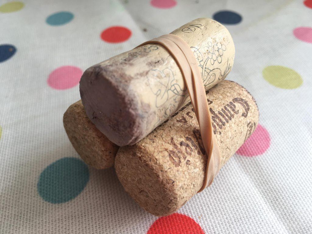 St Patrick's Day cork craft for kids