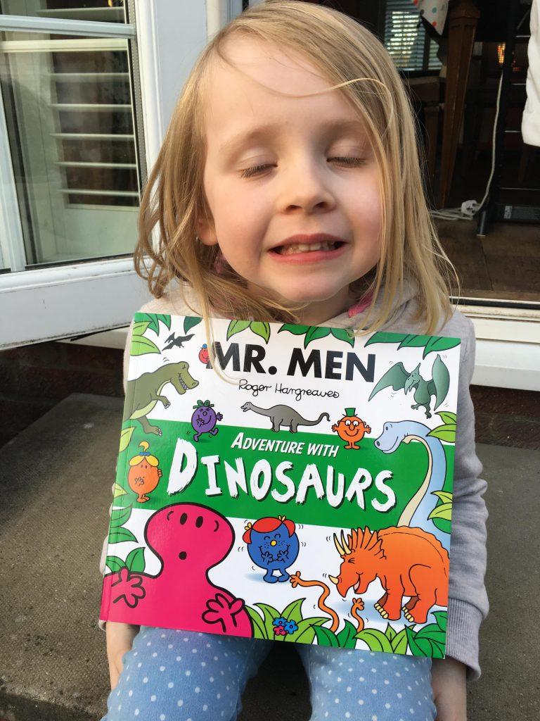 Mr Men Adventure with Dinosaurs