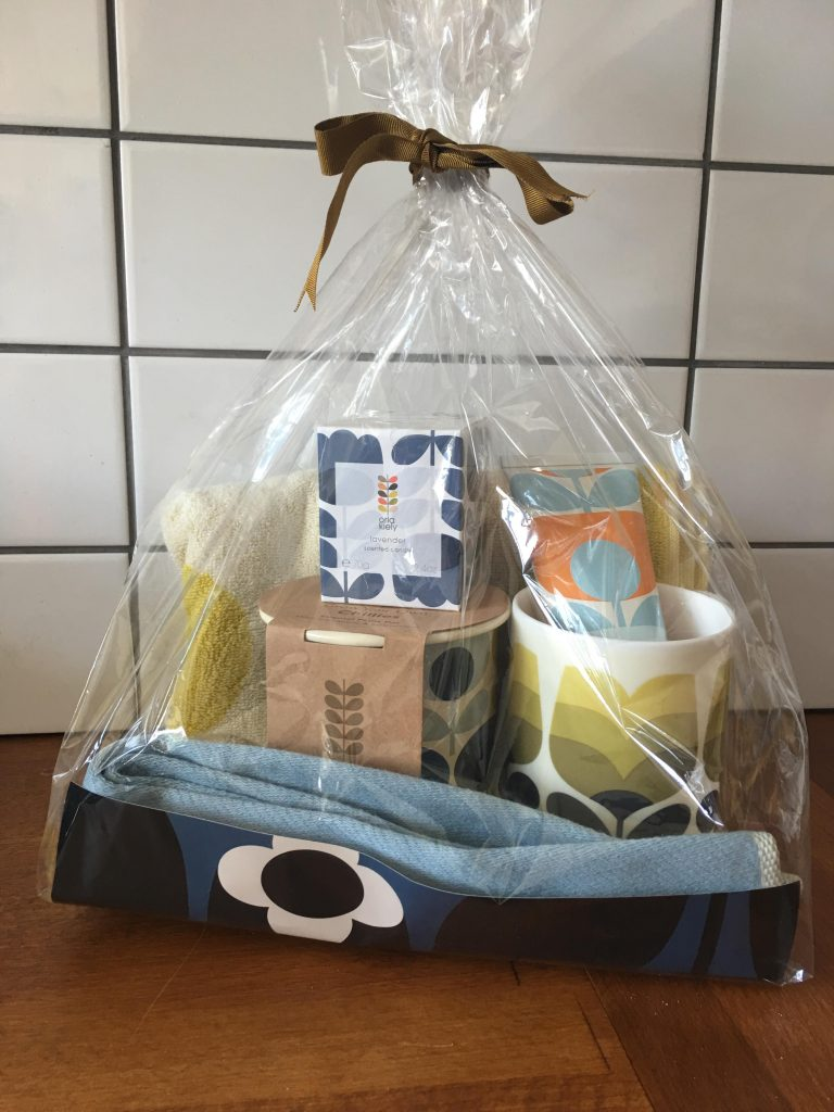 Orla Kiely Mother's Day basket