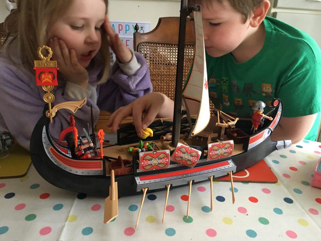 Playmobil History Roman Warriors' Ship review