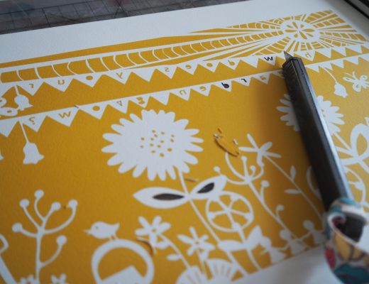 EmbellishBox papercutting template