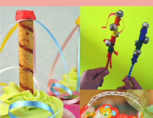 crafts for kids to celebrate May Day