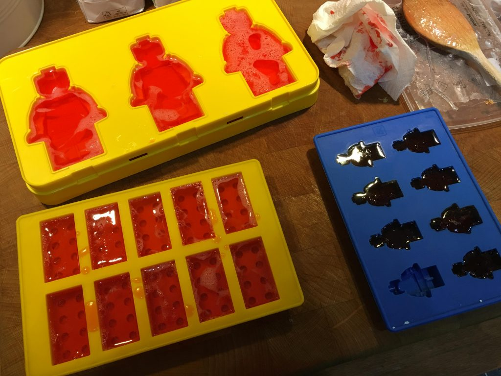 Lego Man Soap