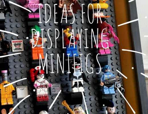 ideas for displaying minifigures