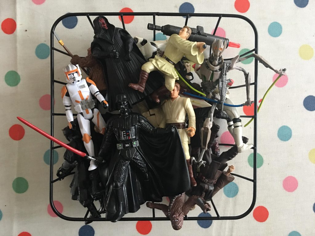 Star Wars Day wreath {decorating for Star Wars Day}