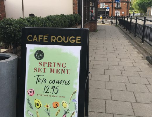 Cafe Rouge Spring menu review