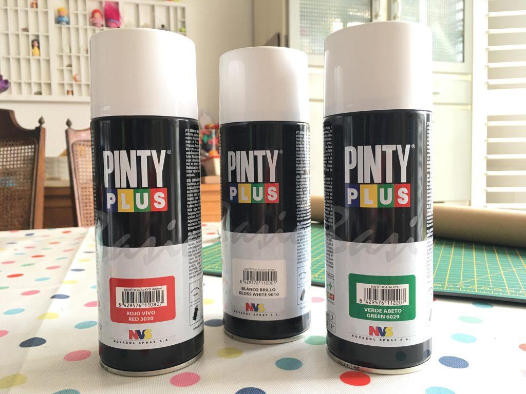 Pinty Plus spray paint