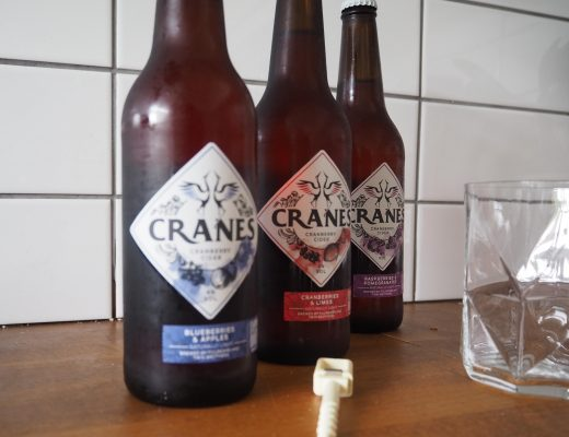 Enjoying the good weather with Cranes cider