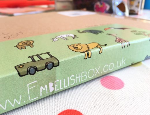 EmbellishBox for papercutters {May box}