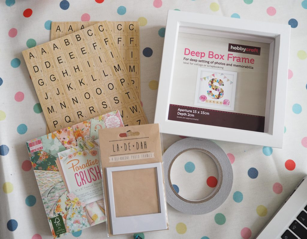 how to make a framed Father's Day gift