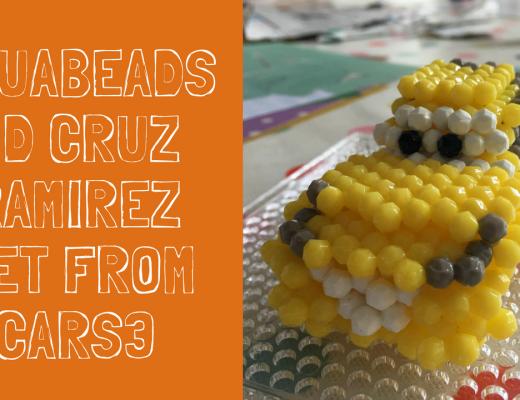 Aquabeads 3D Cruz Ramirez Set