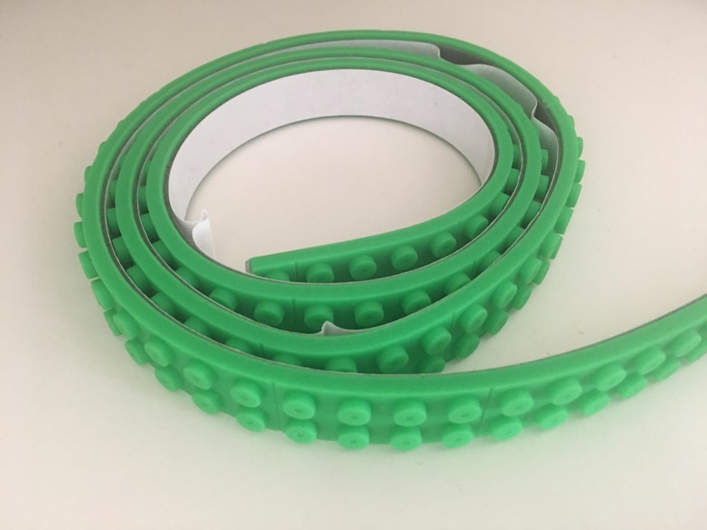 roll of green lego tape