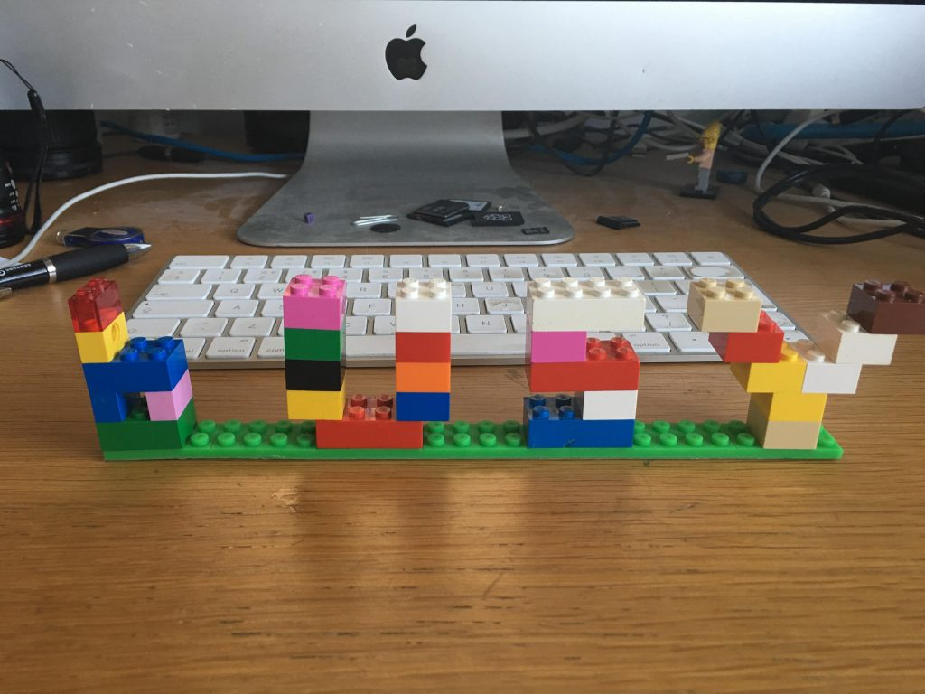 lego tape busy sign for home office
