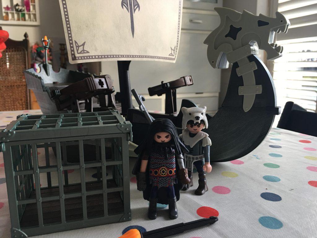 Drago's Ship (Playmobil Dragons 9244
