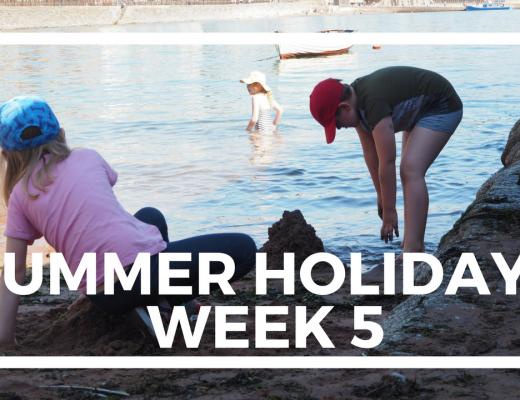 SUMMER HOLIDAYS WEEK 5