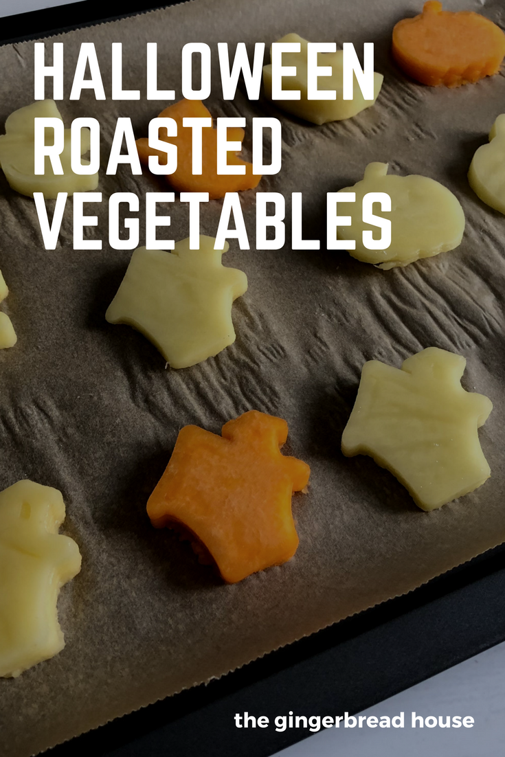Halloween roasted vegetables