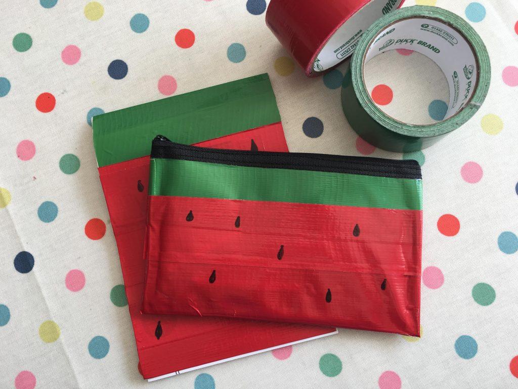 Duck Tape watermelon