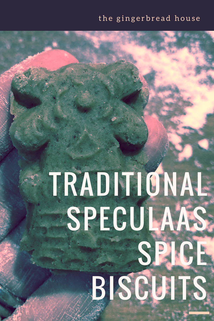Baking Speculaas Spice Biscuits for Autumn